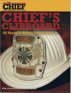 Chief's Clipboard – 20 Yrs of Ronny J. Coleman