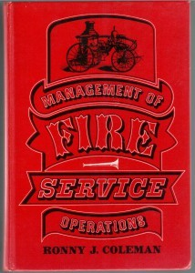 Management of Fire Service Operations
